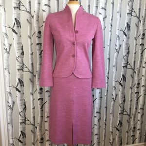 70's Vintage Wool Blend Glenayr Kitten Skirt Suit
